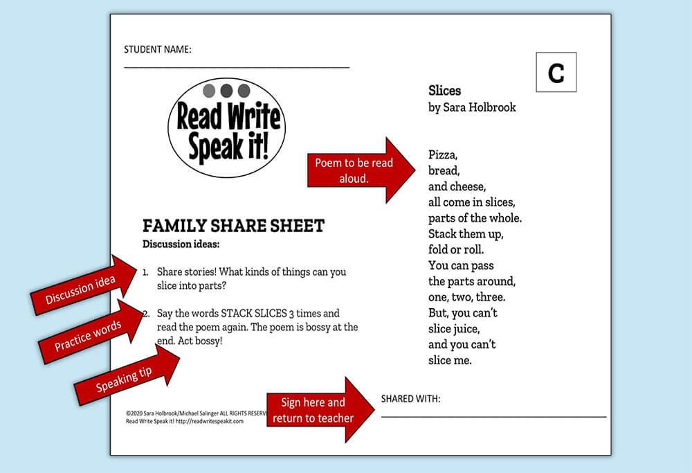 Family Share Sheet Illustration